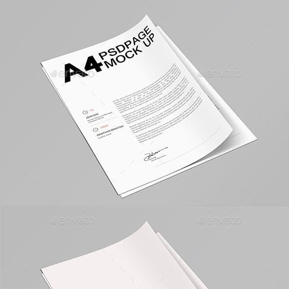 A4 Page MuckUP 10