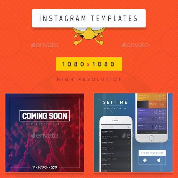 Instagram Mixed Templates