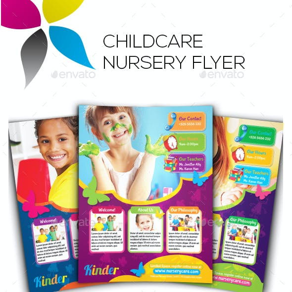 Childcare Nursery Flyer