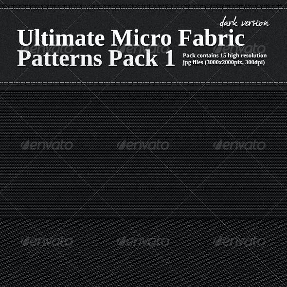 Ultimate Micro Fabric Patterns Pack 1