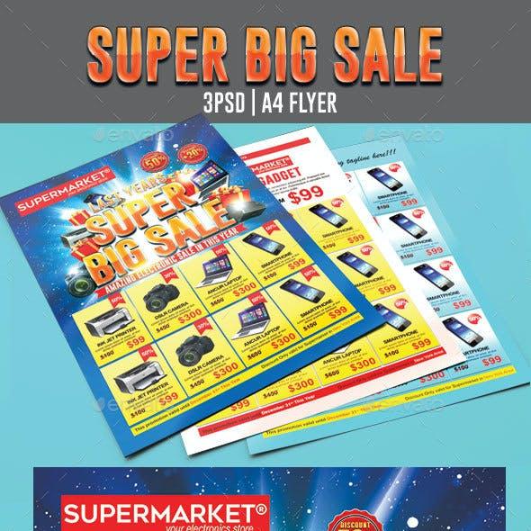 Super Big Sale Flyer