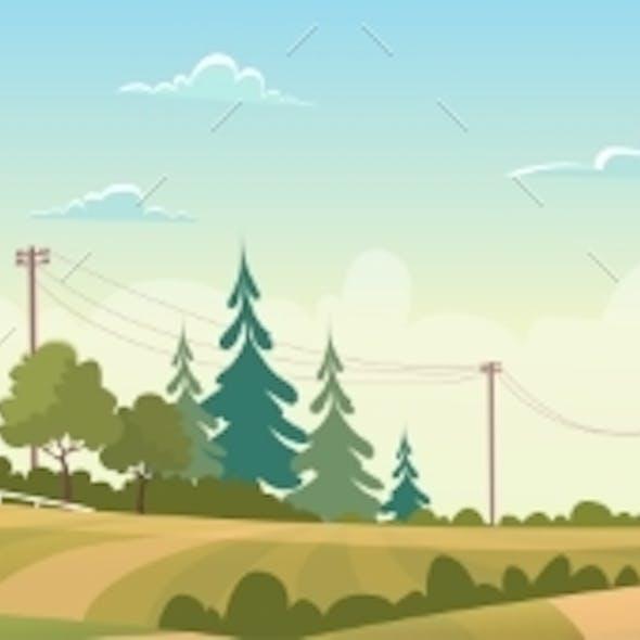 Agriculture And Farming, Farmland Countryside