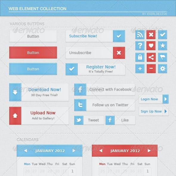 Web Element Collection