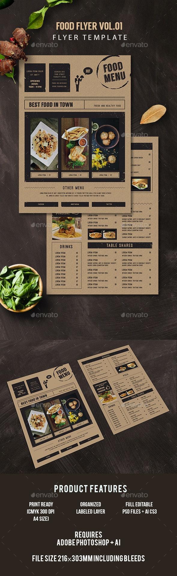 Food Flyer - Restaurant Flyers
