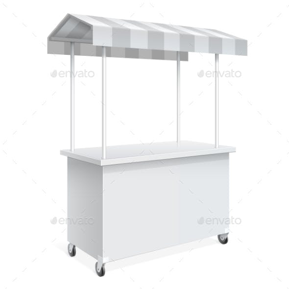 Promotion Counter, Retail Trade Stand