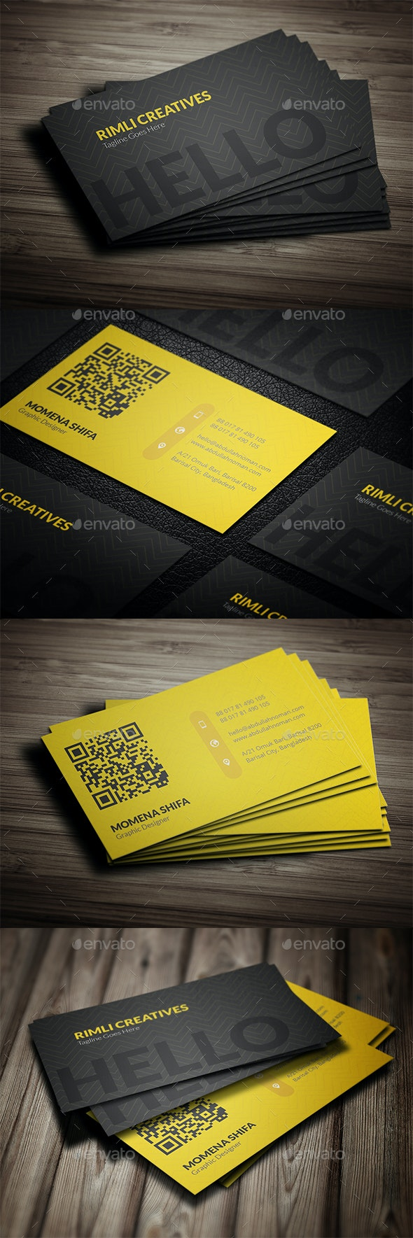 Sleek Business Card Design - Creative Business Cards