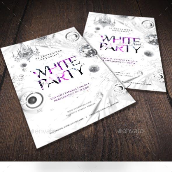 White Party Flyer V5