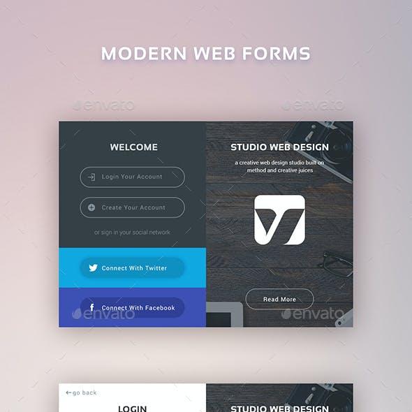 Modern Web Forms