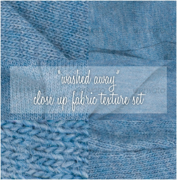"""washed up"" close up fabric texture set - Fabric Textures"