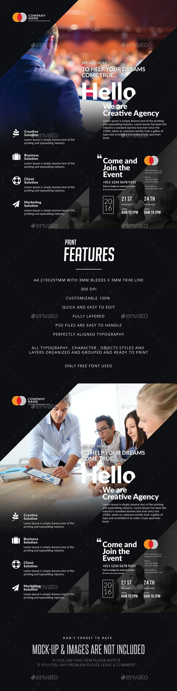 Business Event Flyer & Poster - Events Flyers