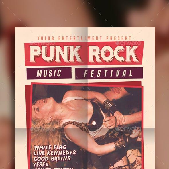 Punk Rock Music Festival