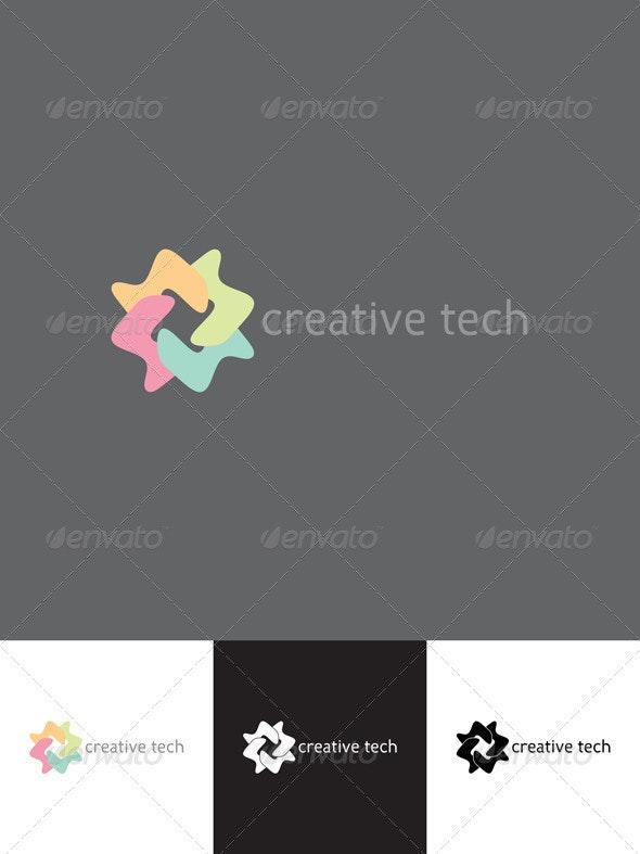 Creative Tech Logo Template - Abstract Logo Templates