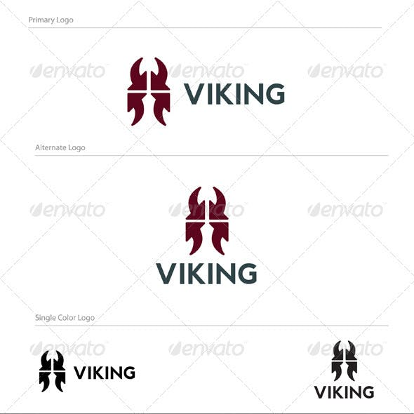 Abstract Viking Logo Design - ABS-017