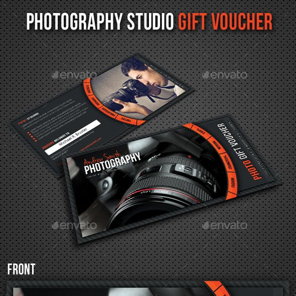 Photography Studio Gift Voucher 10