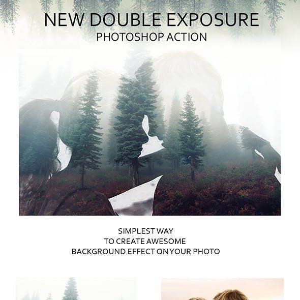 New Double Exposure Photoshop Action
