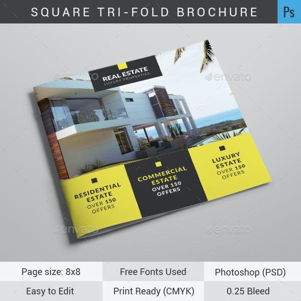 Real Estate Square Tri-Fold