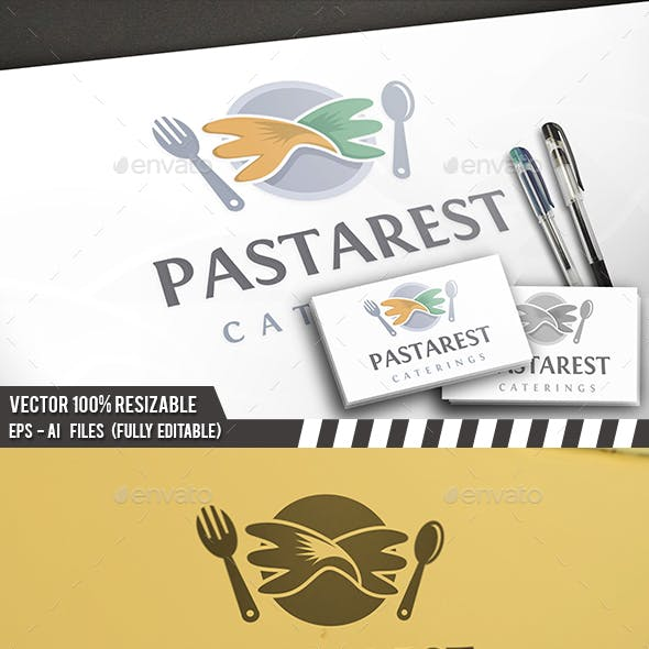 Pasta Restaurant Logo