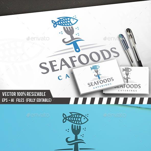 Sea Food Logo Template