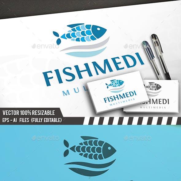 Fish Waves Logo