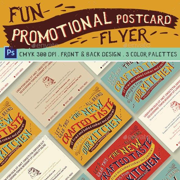 Fun Promotional Postcard