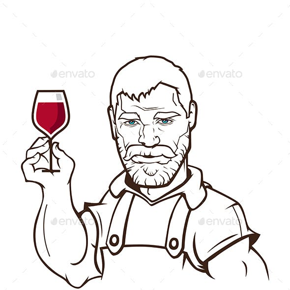 Wine Maker Character