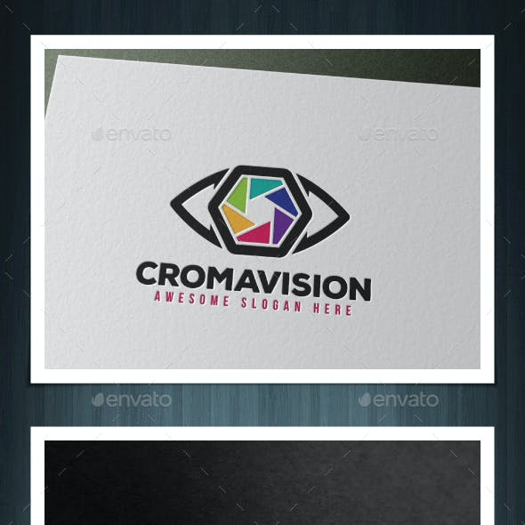 CromaVision Logo