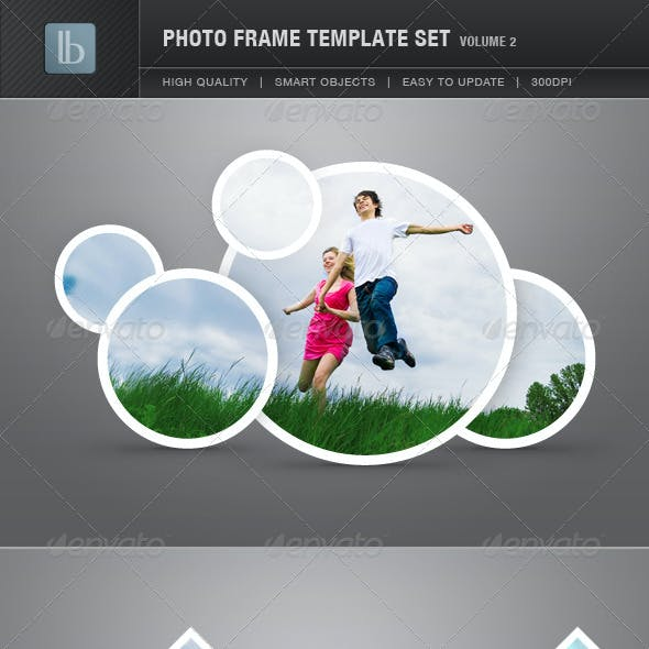 Photo Frame Template Set | Vol 2
