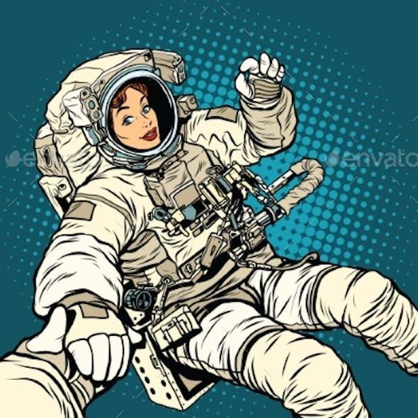 Follow Me, Woman Astronaut