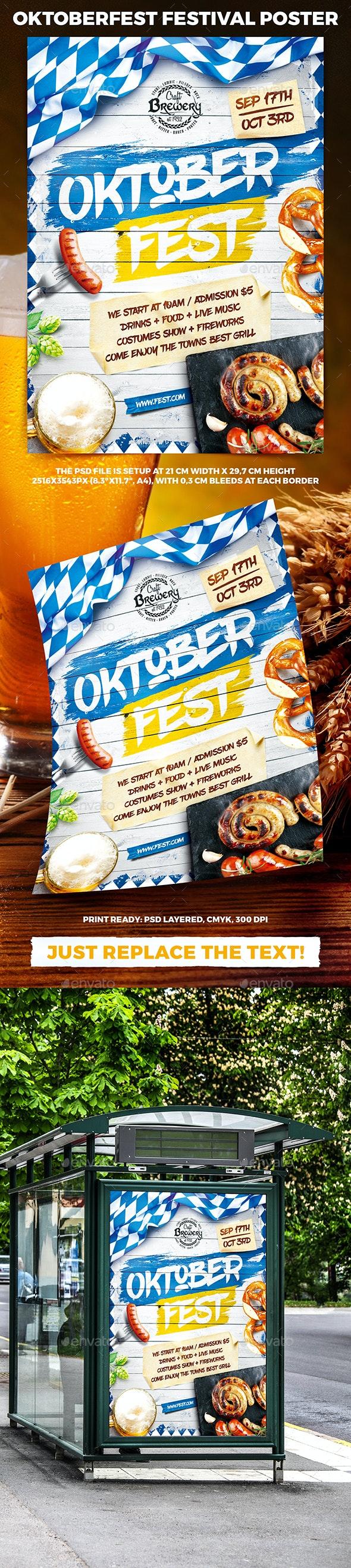 Oktoberfest Festival Poster vol.5 - Holidays Events
