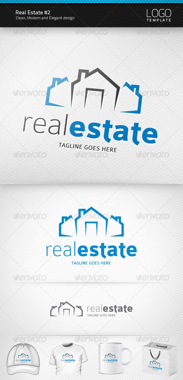 Real Estate Logo #2 - Buildings Logo Templates