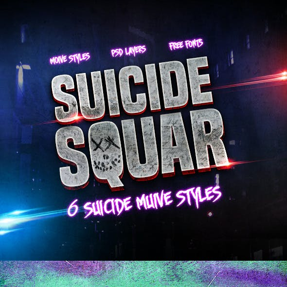 6 Suicide Muive Styles