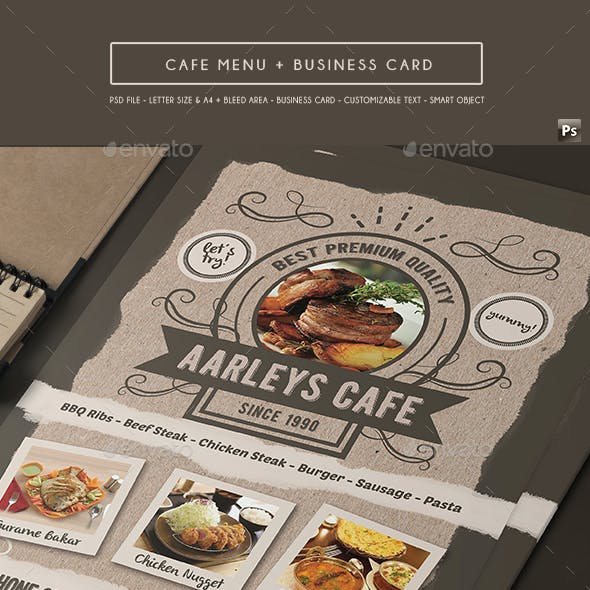 Food / Cafe Menu Flyer