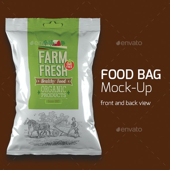 Food Bag Mock-up