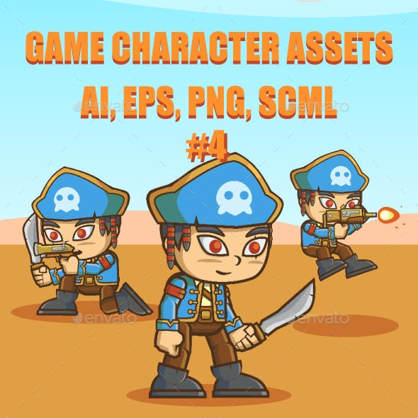 Game Asset : The Pirate