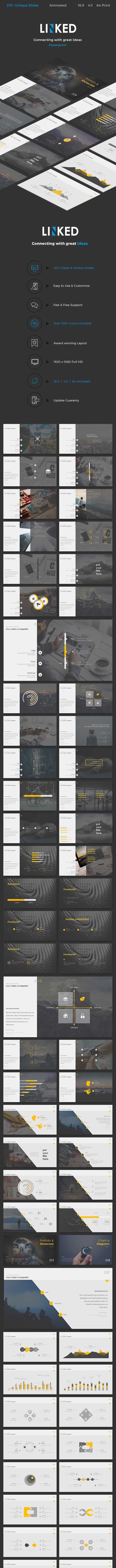 Linked Powerpoint - PowerPoint Templates Presentation Templates