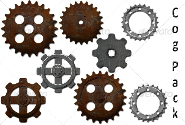 Realistic Cog Pack - Miscellaneous Graphics