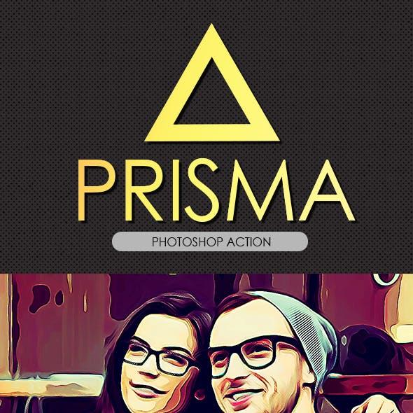 Prisma Effect PS Action