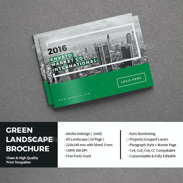 Green Landscape Brochure