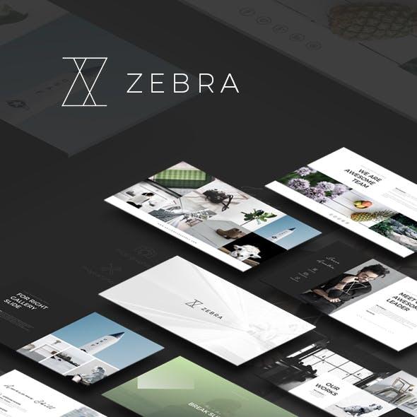 ZEBRA - PowerPoint Template