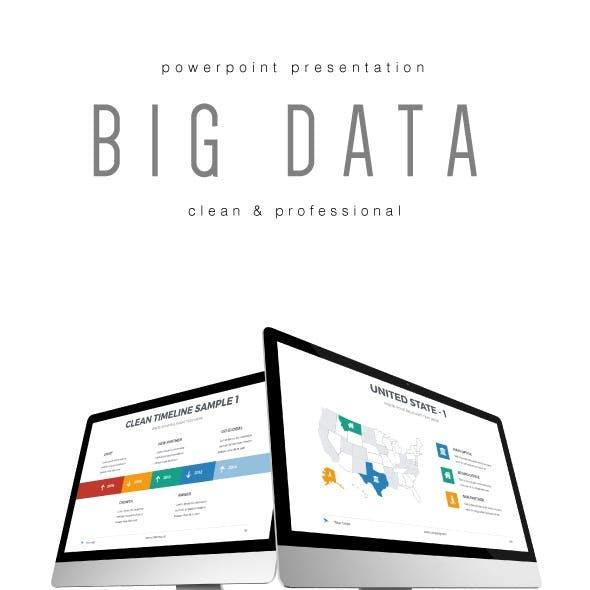 Big Data - Multipurpose PowerPoint Template (V.28)