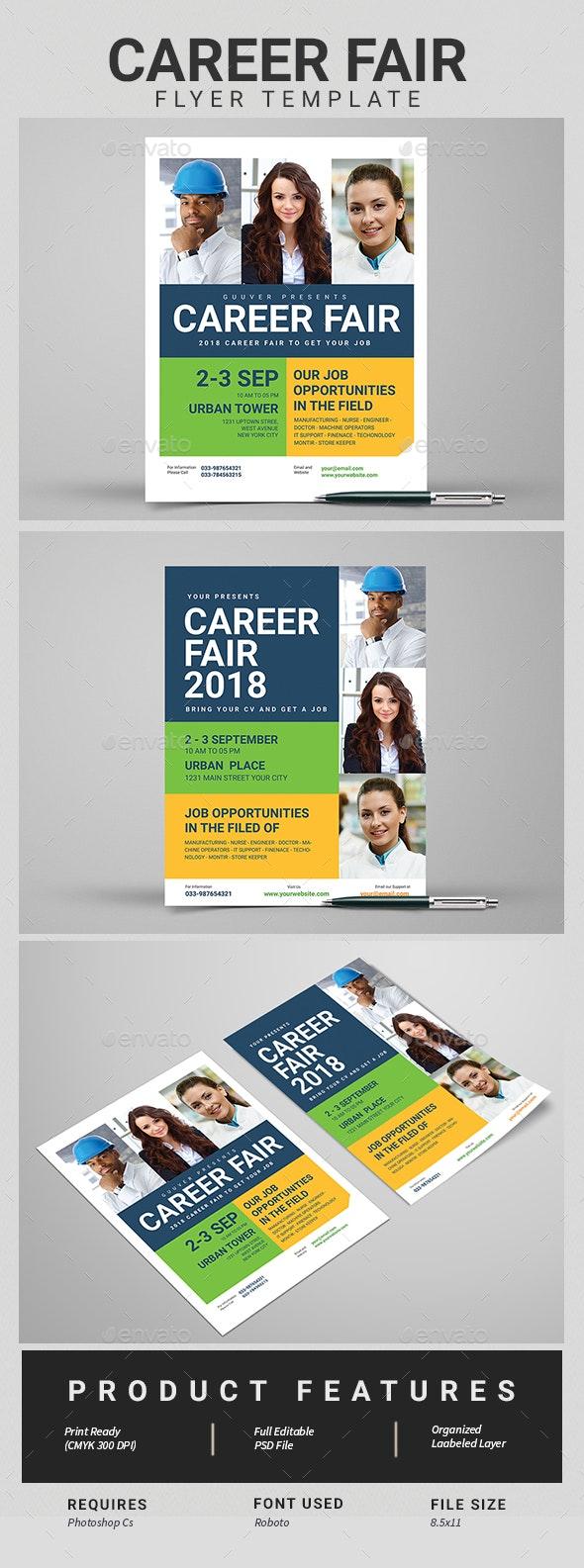 Career Fair Flyer - Corporate Flyers