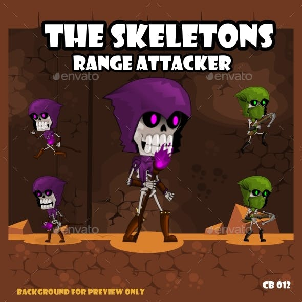 Game Asset : The Skeletons #2