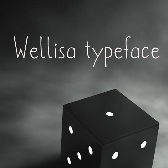Wellisa font