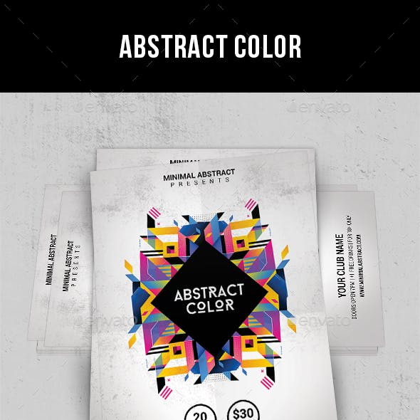 Abstract Color - Flyer