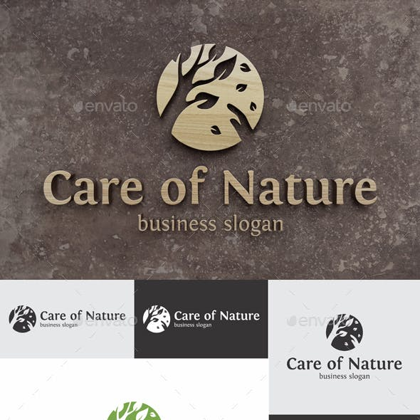 Care of Nature Logo