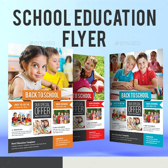 School Education Flyer