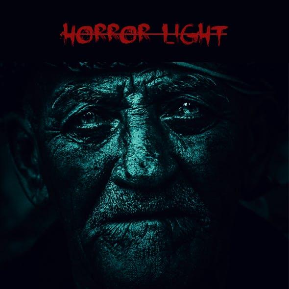 Horror Light Photoshop Action