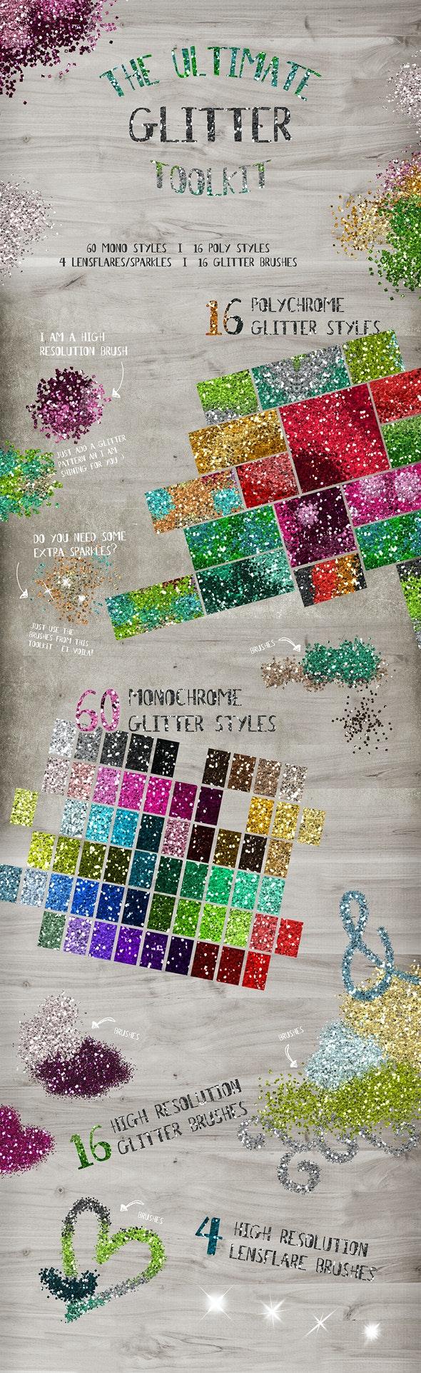 The Glitter Toolkit - Styles Photoshop