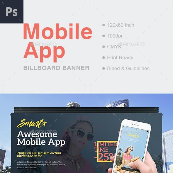Mobile App Billboard Banner