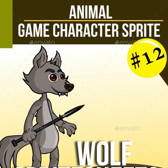 Game Asset : Wolf
